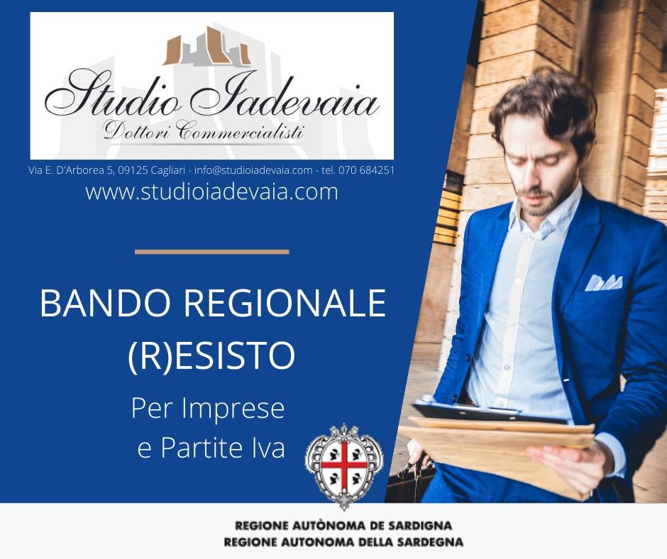 Nuovo Bando Regione Sardegna – Fondo (R)esisto