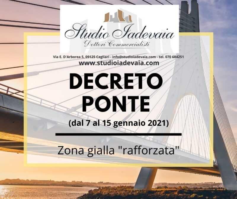 """Decreto Legge """"Ponte"""""""