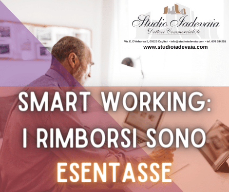 SMART WORKING, I RIMBORSI SONO ESENTASSE